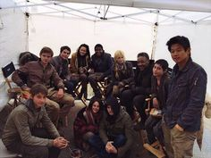 The cast of The Maze Runner:The scorch trials <3 ;)