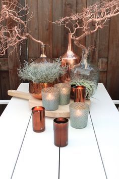 Home deco candles