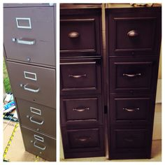 High Quality DIY File Cabinet Makeover For My Classroom! I Took Off The Old Hardware,  Filled