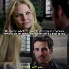 "#OnceUponATime 4x14 ""Unforgiven"" - Emma and Hook"