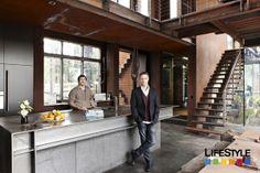 Steel bench-top. Grand Designs Australia.