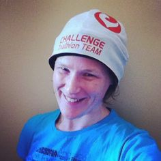 My #TriDailyChallenge winning edge? My #challengefamily Team beanie represents the team mates, friends & family that support me for every minute & every mile! WINNER!!