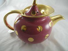 Hall China Tea Pot, Windshield Pattern