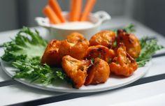 Kukkakaaliwingsit Cauliflower, Pork, Wings, Stuffed Peppers, Snacks, Vegetables, Cooking, Ethnic Recipes, Sweet