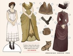 Edith Wharton: THE SPINSTER HALL OF FAME YES, CUT-OUT DOLLS OF FIVE PIONEERING WOMEN WRITERS