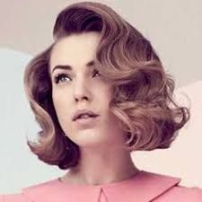 Image result for short hairstyles bob curly