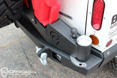 JcrOffroad Adventure Tire Carrier Rear Bumper Upper - Jeep Cherokee XJ (84-01) - JcrOffroad