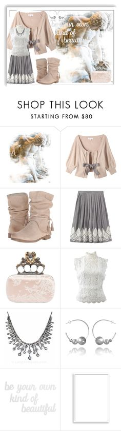 """Be!"" by bren-johnson ❤ liked on Polyvore featuring Coolway, Alexander McQueen, Oscar de la Renta, PBteen and Bomedo"