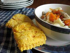 Apron Appeal: Vegan Sweet Potato Biscuits