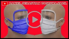 Mask or Face Mask Course - Fashion & Crafts and Courses Sewing Hacks, Sewing Tutorials, Sewing Crafts, Sewing Projects, Easy Face Masks, Diy Face Mask, Mouth Mask Fashion, Fashion Face, Diy Mask
