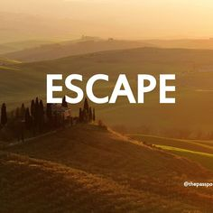 """""""The mind can never break off from the journey"""" Everyone fantasizes about escaping from life • my life completely changed when I made a plan and actually DID IT and every trip since has stayed with me  Tuscany, Italy #motivationalquotes #nomad #expat"""