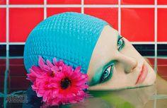 VOGUE GERMANY JUNE 2014 Hanne Gaby Odiele by Miles Aldridge