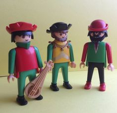 Playmobil Geobra Figures, Royal Trio, Musicians, set of 3, vintage toys, original, collectible, Greece on Etsy, 10,36 €