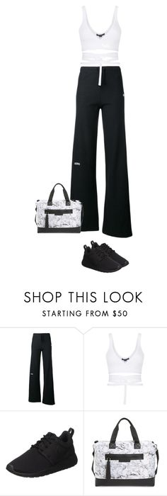 """""""5.869"""" by katrinattack ❤ liked on Polyvore featuring Vetements, Alexander Wang, NIKE, Balsa 201, activewear, offtothegym and polyvorefashion"""