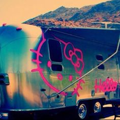 ~ hello kitty airstream- Can you say fabulous?