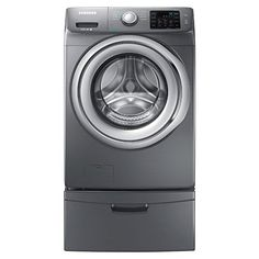 Samsung WF42H5200AP Energy Star 4.2 Cu. Ft. Front-Load Steam Washer with SelfClean, Platinum ** This is an Amazon Affiliate link. Read more reviews of the product by visiting the link on the image.