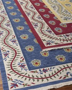 """""""Beasley"""" Rug at Horchow. Perfect for French country decor!"""