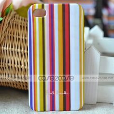 Paul Smith case for iphone 4S 4 Strips