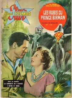 STAR CINE COSMOS 28 LES RUBIS DU PRINCE BIRMAN (1962) ROBERT RYAN