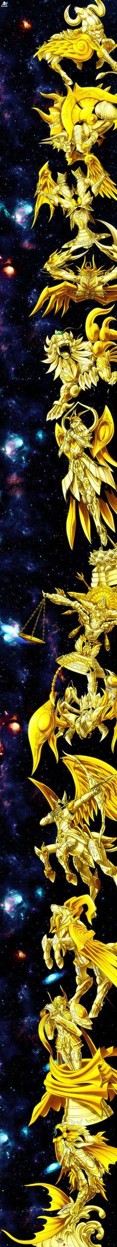 Saint Seiya Soul of Gold's Zodiac of Gold God Cloths