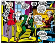 Peter, Gwen and Captain Stacy in Spectacular Spider-Man Magazine #2