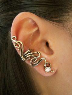 Marty Magic Store - Spiro Ear Cuff Bronze, $29.00 (http://www.martymagic.com/spiro-ear-cuff-bronze/)