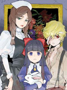 Maria, Aya, and Dio Aya Mad Father, Father Games, Fnaf, Creepy Games, Cry Anime, Alice Mare, Corpse Party, Girls Anime, Manga Girl
