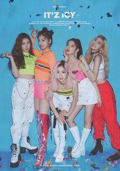 ITZY (있지) is JYP's new girl group. The members consist of Yeji, Lia, Ryujin, Chaeryeong and Yuna. Kpop Girl Groups, Korean Girl Groups, Kpop Girls, J Pop, Snsd Yuri, Rapper, Trending Photos, Fandom, Concert
