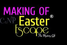 THE MAKING OF Easter Escape The Mystery Gift®! LINK IN MY BIOOO!!