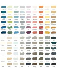 A Pretty Palette: New 108 Paint Color System from Serena & Lily and Colorhouse | Apartment Therapy