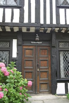"""The House Opposite"" in Rye, East Sussex, England. The mediaeval houses of the magical seaside village of Rye have names, such as ""The House With Two Doors"" ""The House With The Seat"" ""Christmas Cottage"" ""The First House"" ""The Other House"" etc. It's just part of the perfection that is Rye."