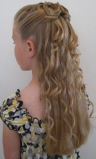 Hair.  Homecoming Style hair