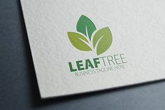 Leaf Tree Logo by eSSeGraphic on Creative Market
