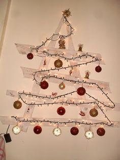 χριστουγεννιατικο δεντρο απο παλετα mnv s