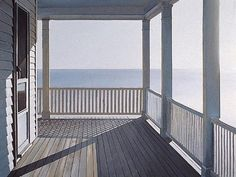 Jim Holland (American artist, born – another good morning – lithograph. Edward Hopper, Holland, Jack Vettriano, Light And Space, Peaceful Places, American Artists, Art History, History Books, Contemporary