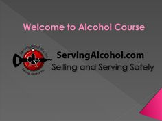 Responsible alcohol service certification courses for alcohol sellers/servers for bartender license & food handling. Quick, Easy, Mobile Friendly.