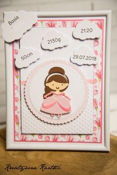 Metryczka dla dziecka Baby Cards, Frame, Handmade, Home Decor, Picture Frame, Hand Made, Decoration Home, Room Decor, Frames