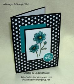 Stampin' Up! Bloom with Hope Hostess Stamp Set & Blendabilities Marker Technique.  Step by Step instructions can be found on my blog:  http://lindasstampinescape.com