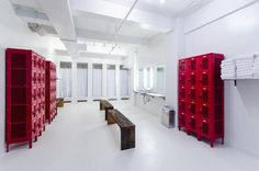 The biggest Bikram Yoga studio in the city, Bikram Yoga Herald Square also has a great locker and bathroom facility. #HeraldSquare #SouthMidtown #NYC