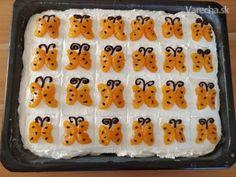 Motýlikový koláč pre Aleška (fotorecept) - Recept