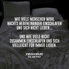 Nicht zusammen einschlafen