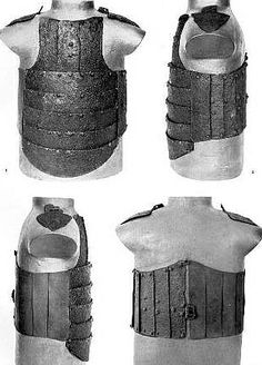 European coat of plates from a mass grave, battle of Visby, fought in July 1361 on the Swedish Baltic island of Gotland, between invading Danish troops and the local, Gutnish, forces. The Danish won a decisive victory. Due to the heat, the dead had to be disposed of quickly, and many were buried in their armour. The archaeological excavation of one of the mass graves, in the 1930s, revealed over 1000 skeletons.