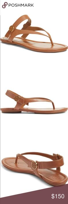 1b8a301ad6e88 New Tory Burch Minnie thong sandal A chic leather thong that you can fold  to fit