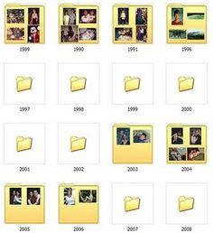 Organize Photos on Computer