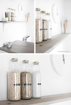 Ikea Kitchen Storage, Ikea Hack Storage, Ikea Hacks, Storage Ideas, Food Storage, Art Storage, Photo Storage, Storage Design, Small Storage