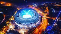 Muhteşem manzara... Vodafone Arena...