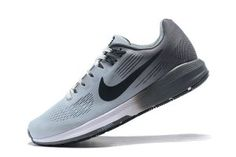 582a5c75573 Mens Nike Air Zoom Structure 21 Sneakers Pure Platinum Cool Grey Wolf Grey  Anthracite 904695 005