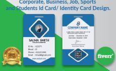 durjoybosu62 | | Fiverr Identity Card Design, Public Profile, Modern Business Cards, Corporate Identity, Student, Education, Health, Health Care, Branding