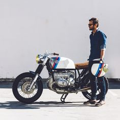 Californian bravado, German cool—Untitled Motorcycles' custom BMW R100.