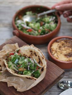 If there is a food more maligned than the doner kebab then it remains unknown to my palate. Long the butt of jokes and the final resort . Turkish Recipes, Greek Recipes, Ethnic Recipes, Doner Kebabs, Gyro Salad, A Food, Food And Drink, Modern Food, Kebab Recipes